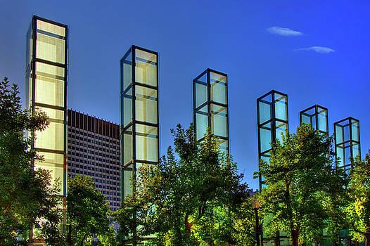 New England Holocaust Memorial - Boston by Joann Vitali