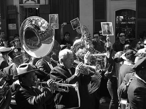 New Orleans Jazz Funeral by Shawn McElroy