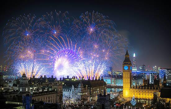 Stewart Marsden - New Year Fireworks