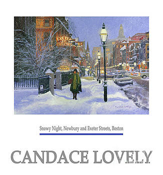 Candace Lovely - Newbury and Exeter Streets
