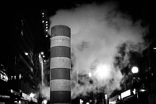 Night Steam NYC by Dave Beckerman