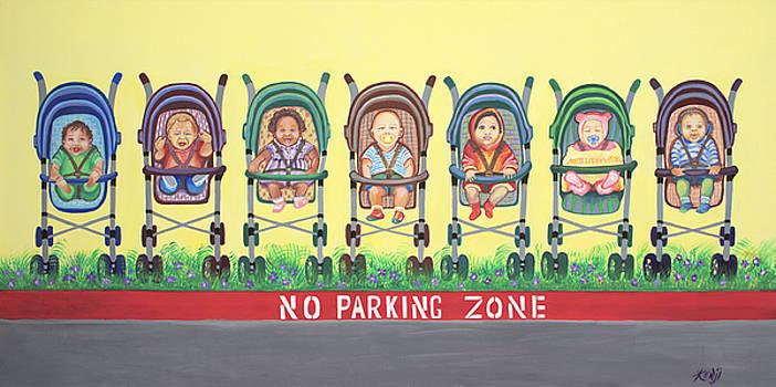 No Parking Zone by Kenji Lauren Tanner