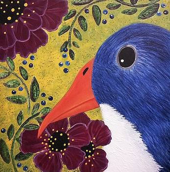 Noon Bird by Clover Moon Designs Peggy Sowers-Heckman