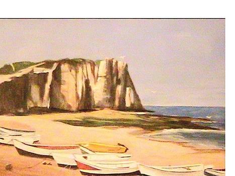 Normandy Beach by Catherine Swerediuk
