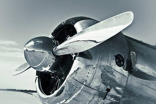 TONY GRIDER - North American Aviation T-6 Texan Monochrome Plane