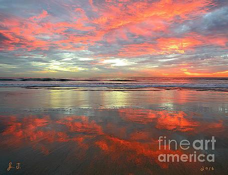 Sea And Sky Mirror by John F Tsumas
