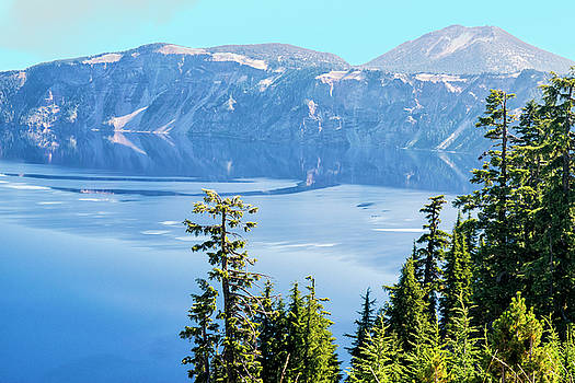 North Rim Crater Lake by Frank Wilson