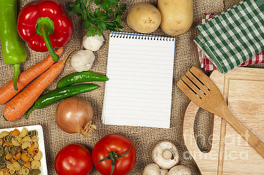 Notebook to write recipes by Deyan Georgiev