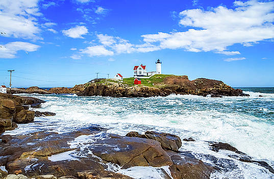 Nubble Light by Robert Clifford