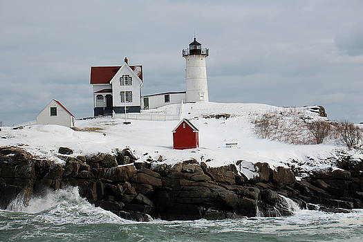 Nubble Point Maine by Jeffery Akerson