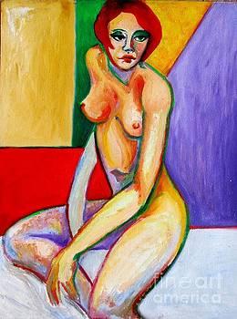 Nude Love by Raquel Sarangello