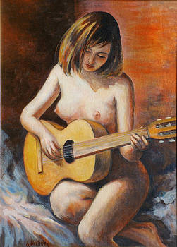Nude Music by Ekaterina Mortensen