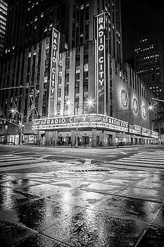 NYC Radio City Music Hall by John McGraw