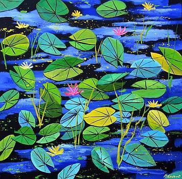 Nympheas by Pol Ledent