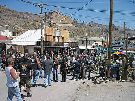Oatman Arizonia by JoAnn Tavani