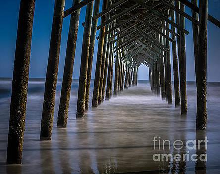 Ocean Isle Pier by Debbie Morris