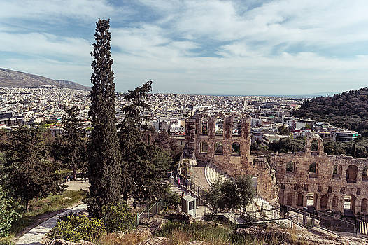 Odeon of Herodes Atticus by Michael Maximillian Hermansen