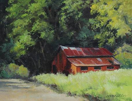 Old Barn by Maralyn Miller