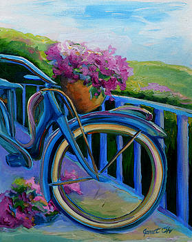 Old Bicycle on the Front Porch by Janet Oh
