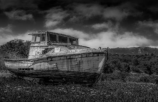 Old Boat Wreck by Bruce Bottomley