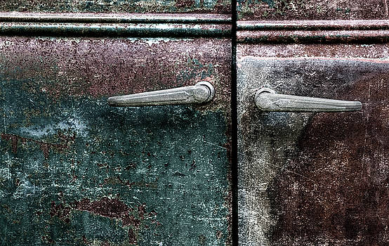 Carol Leigh - Old Car Weathered Paint