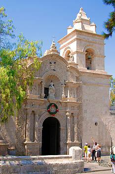 Eduardo Huelin - Old church in Arequipa Peru