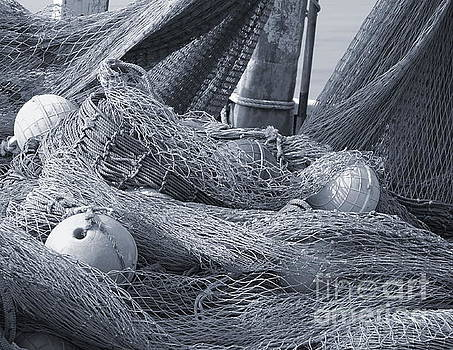 Old Fishing Nets with Floats by Yali Shi