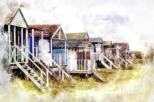 Old Hunstanton Beach Huts by John Edwards