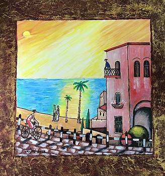 Old Jaffa  by Mimi Eskenazi