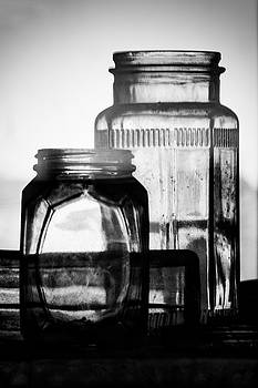 Guy Shultz - Old Jars BW