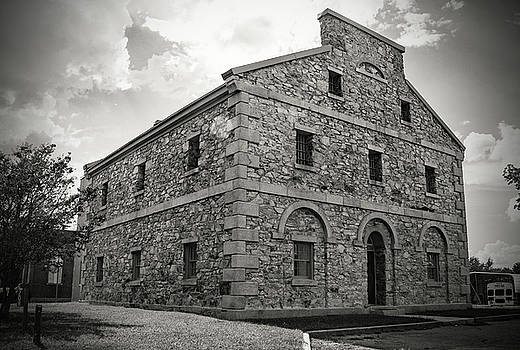 Old Lancaster Jail 24 B W 1 by Joseph C Hinson Photography