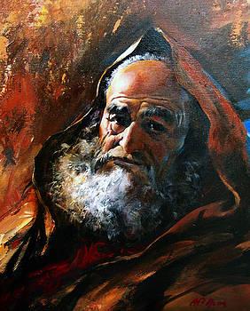 Old Man by Alim Adilov