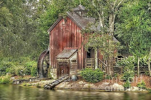 Old Mill by Arnie Goldstein