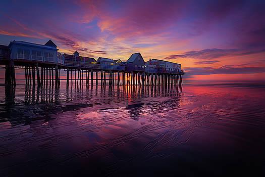 Old Orchard Beach Sunrise by Dana Plourde
