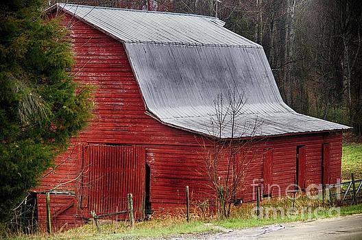 Old Red Barn by JW Hanley