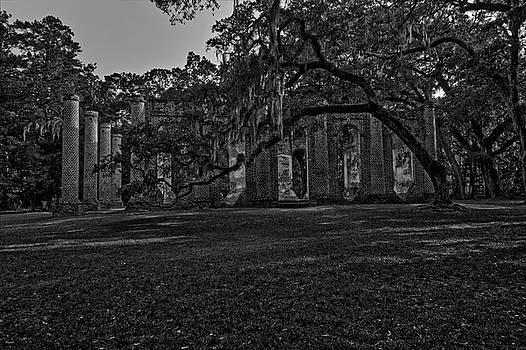 Jason Blalock - Old Sheldon Church HDR