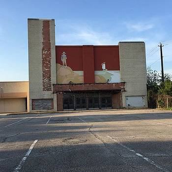 Old Theatre - Pasadena, Texas. #theatre by Gin Young