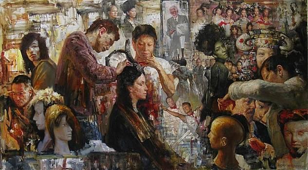 Olympic haircutting by Kartashov Andrey