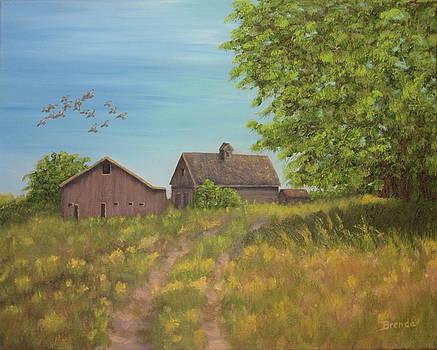 On The Farm by Brenda Maas