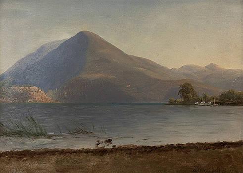 Albert Bierstadt - On The Hudson