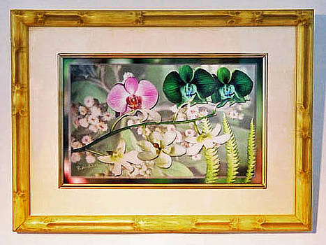 Orchid Montage by Richard Nickson
