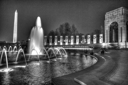 John King - Pacific Theatre World War II Memorial