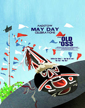 Padstow Cornwall May Day Oss by Neil Finnemore