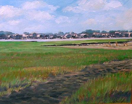 New England Shore by Perrys Fine Art