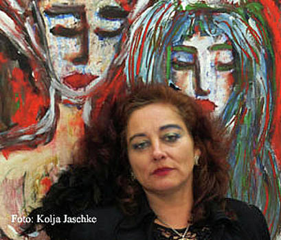 Painting by Nele Heydegger
