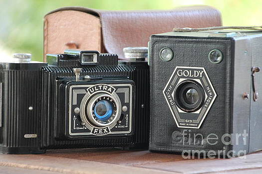 Painting with Light ...vintage cameras  by Lynn England
