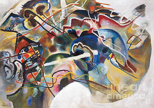Kandinsky - Painting With White Border