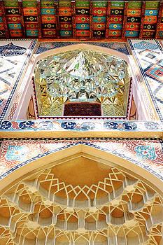 Detail of the Palace of Sheki Khans by Fabrizio Troiani