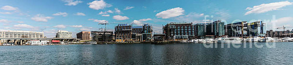 Panorama of Washington Channel Waterfront March 2017 by Thomas Marchessault