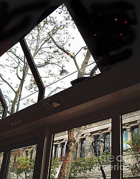 Felipe Adan Lerma - Paris Cafe Views Split Windows